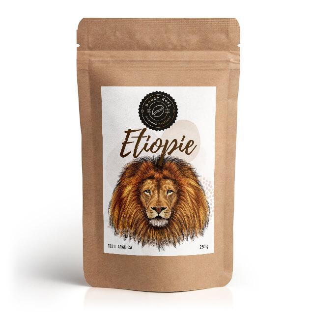Česká káva, lokální pražírna, Etiopie